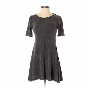 BillaBong Distressed Black Mini Dress